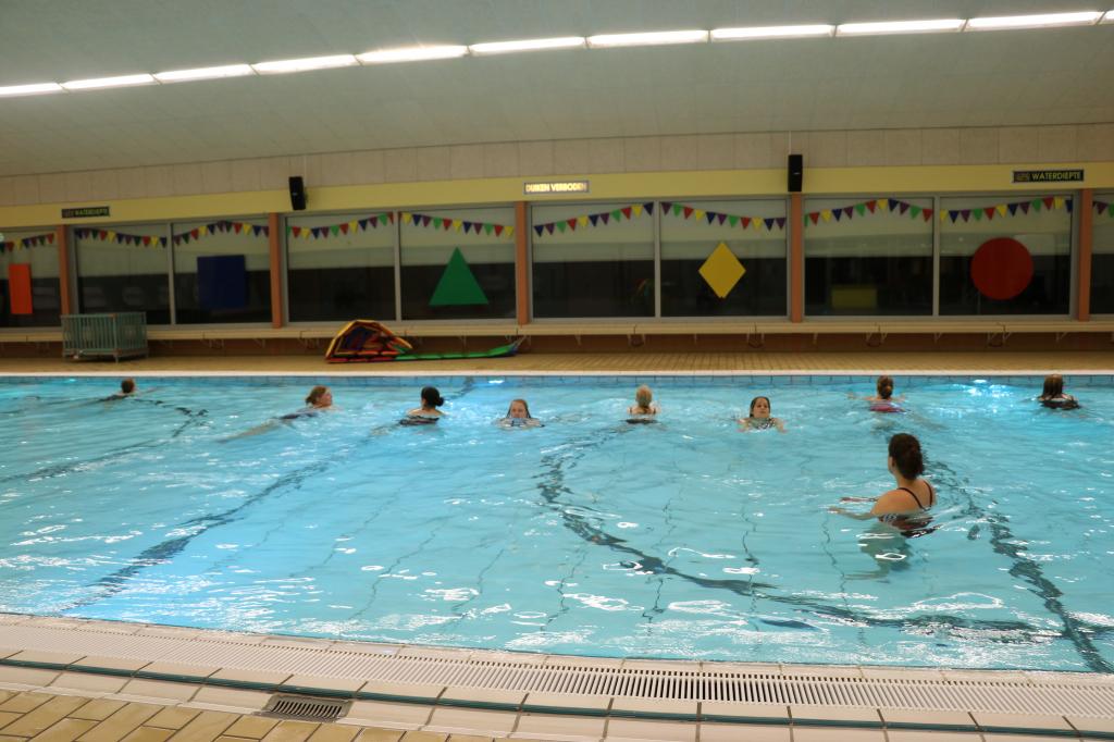 Warm water zwemmen