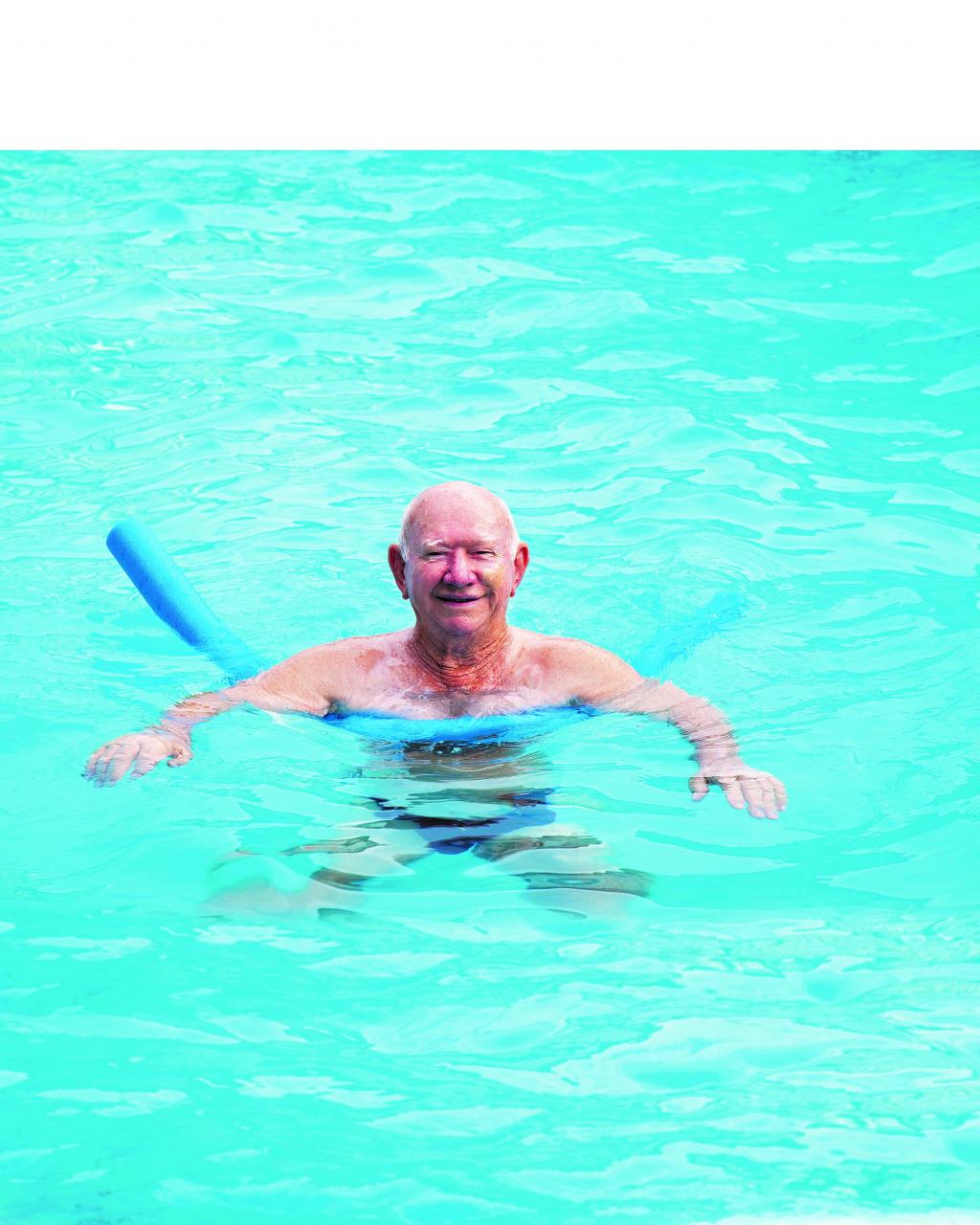 Zwemmen met dementie